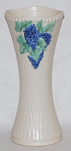 McCoy Pottery Vase, have one similar to this one but the background is not textured.
