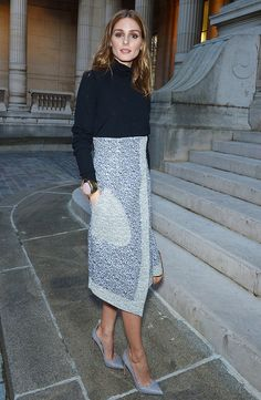 15 Outfits That Prove Olivia Palermo Won Fashion Week via @WhoWhatWear