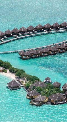 The Taj Exotica Resort & Spa has a stellar location on a secluded lagoon.