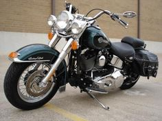 "*** ""Harley-Davidson"" Softail Heritage Classic./2002."
