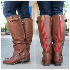 Tan Riding Boot Outlaw-81