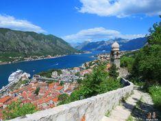 views of Kotor, Montenegro