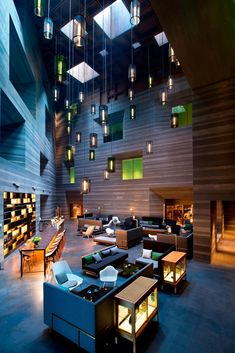 Beautiful design hotel by Neri&Hu.
