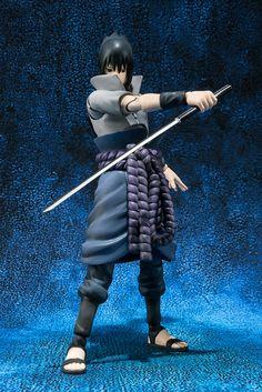 Figures Anime / Manga : Naruto Action Figure Sasuke Uchiha S.H. Figuarts PVC 14 cm ( Bandai )