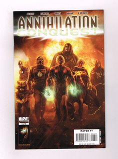 "ANNIHILATION CONQUEST #6 Grade 9.6 Modern key 1st ""new"" Guardians of the Galaxy!  http://www.ebay.com/itm/-/302064906722?roken=cUgayN&soutkn=se12pE"