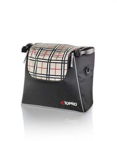Topro Einkaufstasche, tartan-rot, Rollator Zubehör für Troja, 2G