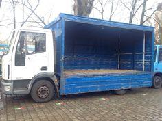 Iveco EuroCargo 80E17P , zincu aufbau, Getränkewagen, Baujahr 2004 mit nur 150000 km.