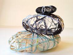 mixed media pebbles... Janilaine Mainprize www.janilainemainprize.co.uk Art@41