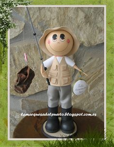 La Marquesa del Puerto Biscuit, Different Sports, Gum Paste, Diy, Making Out, Cake Toppers, Polymer Clay, Projects To Try, Dolls