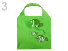 Nákupní taška skládací 38x38cm ryba 710306 Reusable Tote Bags