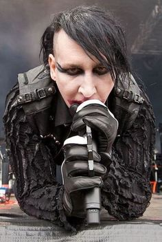 I used to jack Marilyn Manson's style. Now he's jacking mine.