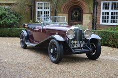1934 Bentley 3 1/2-Litre Tourer Maintenance/restoration of old/vintage vehicles: the material for new cogs/casters/gears/pads could be cast polyamide which I (Cast polyamide) can produce. My contact: tatjana.alic14@gmail.com