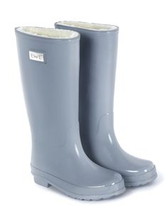 French Gray wellies by Ewe