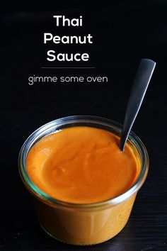 Thai Peanut Sauce. A quick and simple recipe for peanut sauce that can be used in everything from a stir-fry, to chicken satay, to a salad, and more!