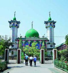Xi Guan Mosque in Yinchuan, China