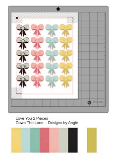Make your own clear stickers to match designer digi papers - Janet Packer (Crafting Quine)