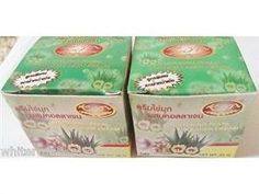 NEW!  WHITENING PEARL & ALOE & COLLAGEN & SNOW LOTUS SMOOTHER FACE CREAM 20G by KIMAUTHENTIC THAILAND    *    HIGHLY CONCENTRATED EXTRACTS!This Cream is the Best for Whitening + Softening + Pimple & Spot Removing +Moisturizing + Intensive Anti-Wrinkles Treatment (Can Be Used As Foundation Cream, Before Makeup Your Face Prevent Acne, Freckles, Melasma, and Dark Spots From Recurring.)GMP Certification  * Skin Whitening & Lightening ...