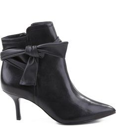 Ankle Boot Sexy Point Black