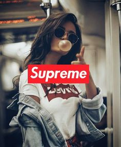 Wallpapers iphone for Girls Supreme Iphone Wallpaper, New Wallpaper Hd, Simpson Wallpaper Iphone, Fashion Wallpaper, Girl Wallpaper, Screen Wallpaper, Supreme Brand, Dope Wallpapers, Hypebeast Wallpaper