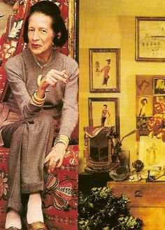 Diana Vreeland  - god, that woman had  the eye for colors! <3
