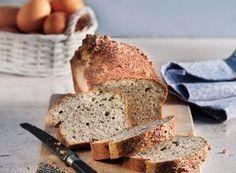 Photographie de recette Connect Plus, Banana Bread, Low Carb, Desserts, Food, Vanilla Sauce, Flourless Bread, Almonds, Thermomix