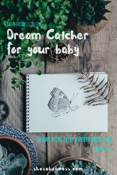Every nursery is only complete with the addition of a dream catcher