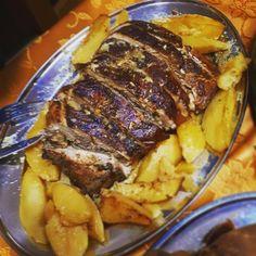 Greek Recipes, Steak, Pork, Food And Drink, Meals, Kale Stir Fry, Greek Food Recipes, Steaks, Pork Chops
