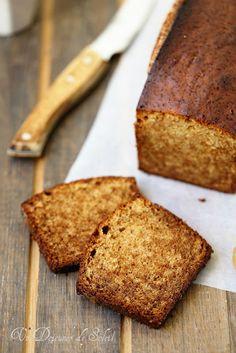 Gâteau moelleux au miel (genre pain d'épice) - un déjeuner au soleil