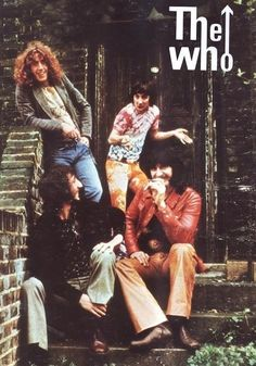 This is my favourite picture of them :D Taken by Roger Daltrey's cousin Graham Hughes, for the back cover of The Who's still-perfect 1971 anthology Meaty Beaty Big And Bouncy Music Love, Music Is Life, Rock Music, Rock Posters, Band Posters, Rock Y Metal, El Rock And Roll, Rock & Pop, John Entwistle
