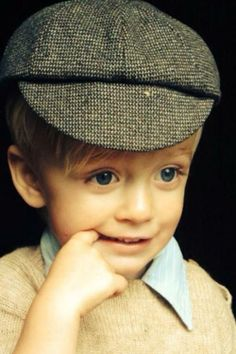 now who might this wee one be??? 2yr old Lucas, making his debut in Downton Abbey