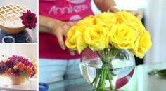 13 jednoduchých tipů pro naaranžování květin jako od profíka!