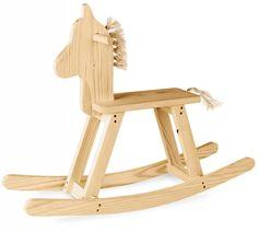 Cavalinho de balanco infantil brinquedo cavalo de madeira                                                                                                                                                      Mais