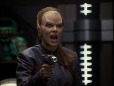 "Star Trek: Voyager 4 X 19 ""Vis a Vis"" Mary Elizabeth McGlynn as Daelen"