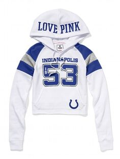 Indianapolis Colts Authentic Font Pullover Hoodie Dark Blue