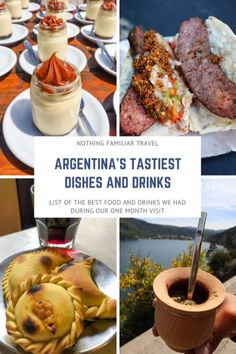 We searched high and low for the best food to eat in Argentina and came up with this epic food list! Street food in Argentina, typical dishes, and more! Argentina Food, Argentina Recipes, Argentina Travel, Tasty Pastry, Lamb Stew, How To Make Sausage, Good Foods To Eat, Love Eat, Food Lists