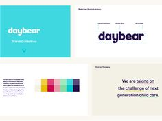 Daybear Guidelines by Sam Stratton #Design Popular #Dribbble #shots