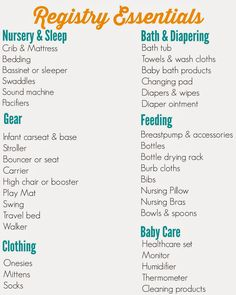 Creating A Thoughtful And Organized Baby Registry For New Babies