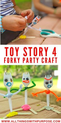 Toy Story 4 Party Theme and Free Printable Party Pack Awesome ideas to throw a fun, budget friendly Toy Story 4 themed birthday party! Free birthday party printables and activity pages. Fête Toy Story, Toy Story Crafts, Toy Story Theme, Toy Story Birthday, Toy Story Party, Toy Story Food, Disney Diy, Disney Cute, Disney Pixar