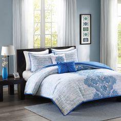Rui Comforter Set in Blue | Joss & Main