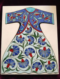 1 Turkish Tiles, Turkish Art, Islamic Tiles, Dress Design Sketches, Turkish Design, Pink Slippers, White Mini Dress, Ceramic Painting, Pottery Art