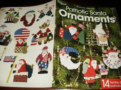Christmas Plastic Canvas Patterns Patriotic by ClassyStitches, $6.00