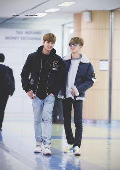 "ikon-global: "" 160311 Chanwoo & B.I @ GMP © STAY TRUE | DO NOT edit. """