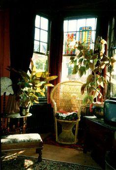 bohemianhomes:Bohemian Homes; Peacock Chair