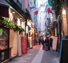 Latin Quarter Cafes, Paris by LegioPatriaNostra