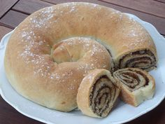 Sweet Recipes, Cake Recipes, Pan Dulce, Bagel, Doughnut, Food And Drink, Sweets, Bread, Cooking