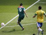 Mexico's goal fastest in Olympics since 1976 and Gold Medal!!!!