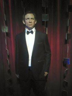 Daniel Craig w Muzeum Figur Woskowych w Sopocie