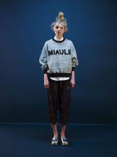 model wear miyao AW 2015 fashion design