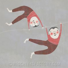 red cheeks factory: swing twins
