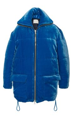 Velvet Puffer Jacket  by DION LEE for Preorder on Moda Operandi